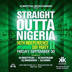 Straight Outta Nigeria at 56 | DJ Demo
