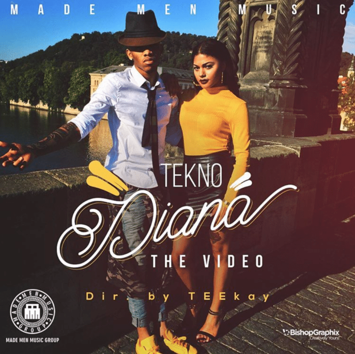 Music  alert : Tekno – Diana ( Official Video )