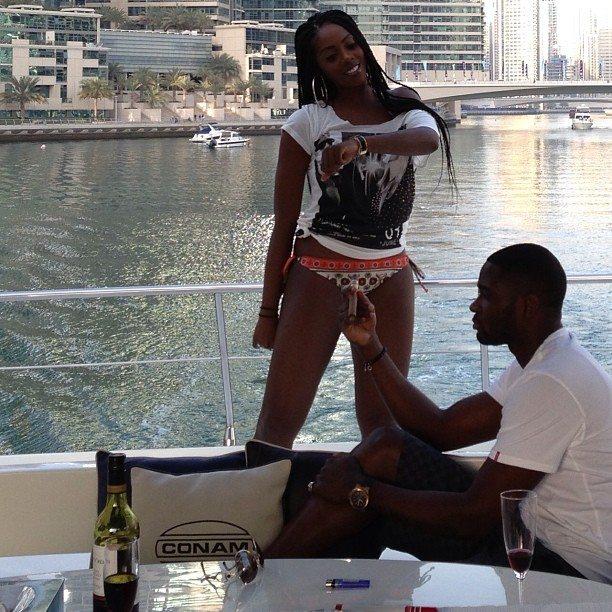 Tiwa Savage And Teebillz