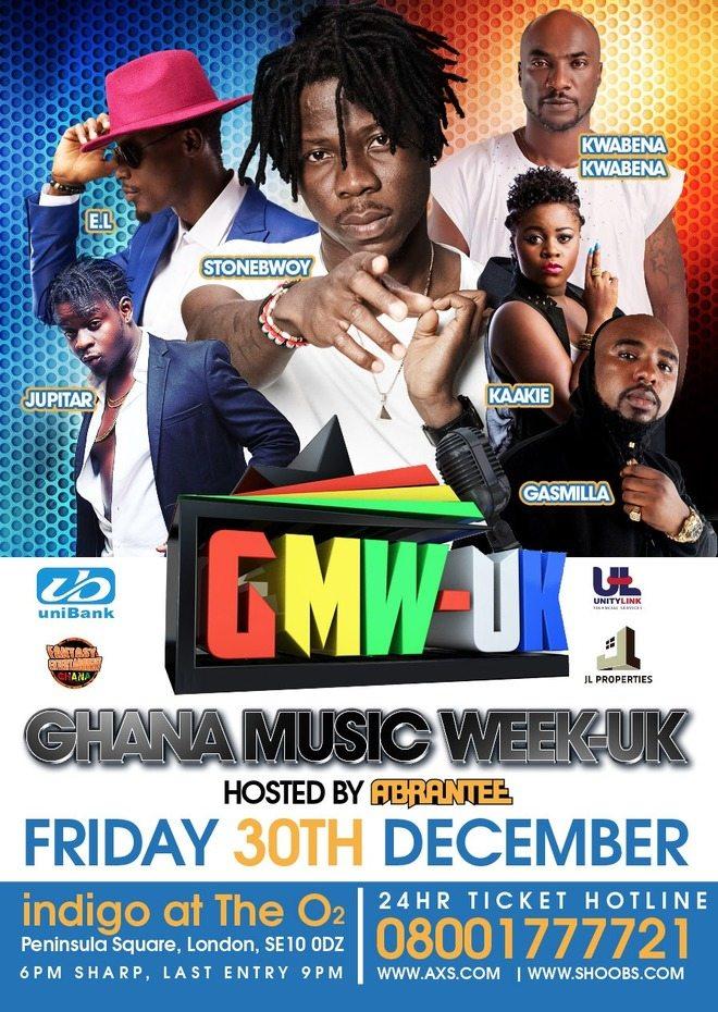 Photo of GHANA MUSIC WEEK UK ON DECEMBER 30 @ghanamusicwk
