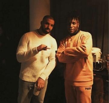 Burna Boy Meets Drake In London During Club Tour