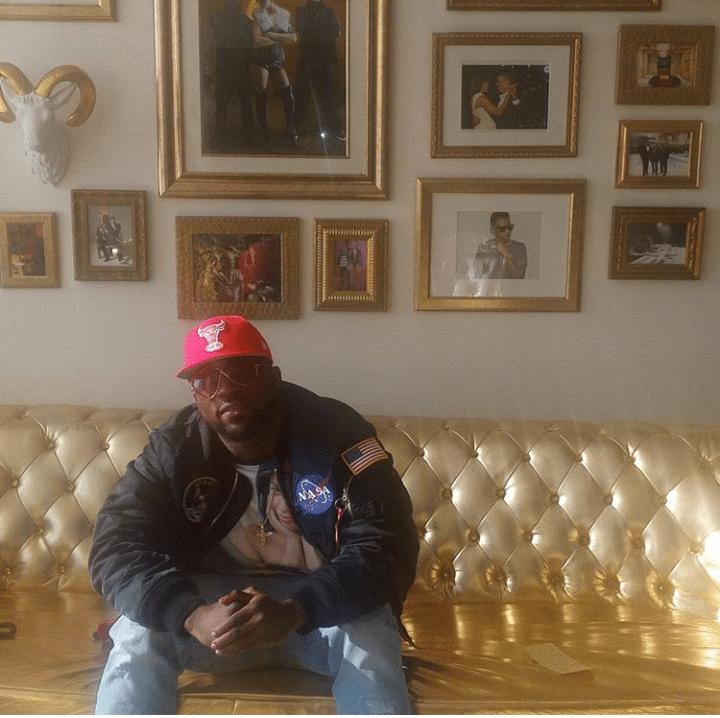 Iyanya Meets Tiwa Savage and Squad At Roc Nation