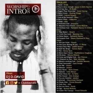 Worship Intro 2017 Mix - DJ DDavid