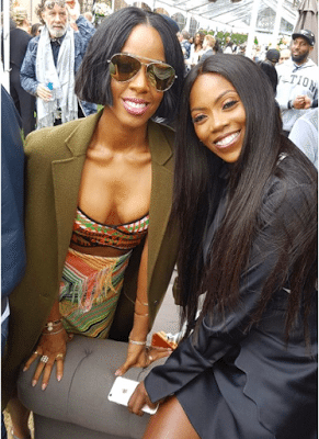 Tiwa Savage, Jay Z, Kelly Rowland And P.Diddy at Roc Nation's Pre-Grammy Brunch