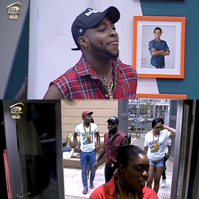 Big Brother Naija, I spent $1 Million in 3 months, Davido tells housemates during visit