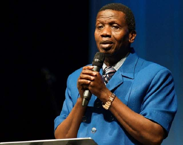 I have disobeyed God once - Pastor Adeboye reveals