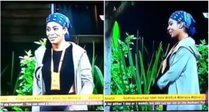 Tboss of Big Brother Naija can't recite national anthem