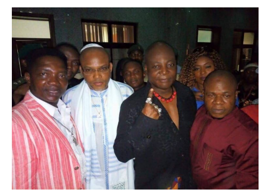 Charly Boy explains why he followed Nnamdi Kanu to court