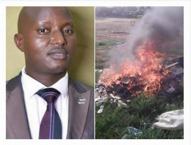 Ugandan Pastor burns church members Bibles, explains why