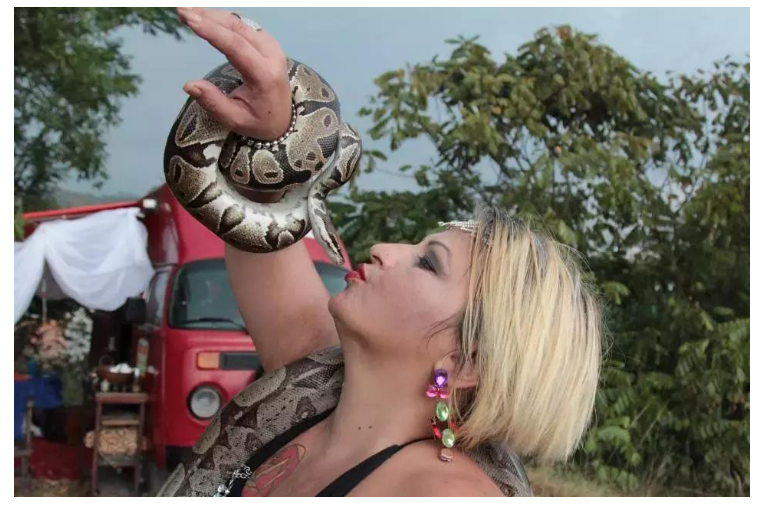Why I use snakes to massage clients, Depression therapist