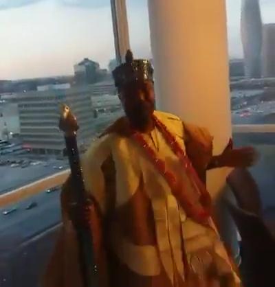 Royal Dance By The Oluwo Of Iwo Land