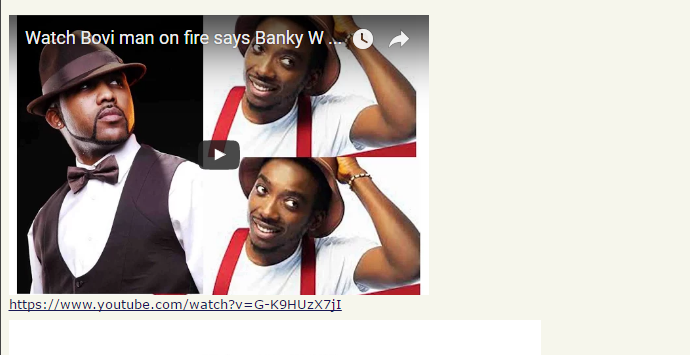 If you don't understand my jokes, go and eat shit - Bovi blasts haters