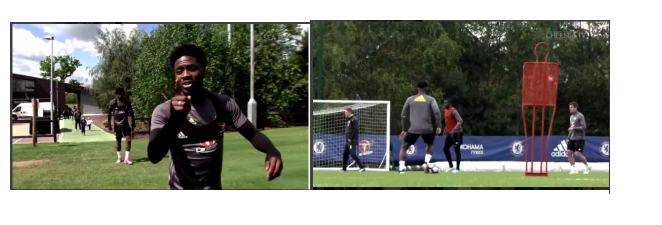 Photo of Chelsea players sing to Davido's 'IF' song during training [VIDEO]