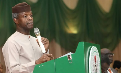 Democracy Day: Osinbajo delivers speech, says 'Nigeria belongs to all of us'