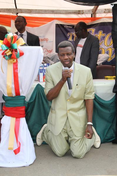 Pastor Adeboye sends 'fire, holy war' to kidnappers, Boko Haram