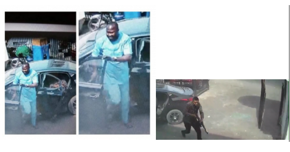 CCTV footage of daylight robbery at Zenith Bank Owerri surfaces