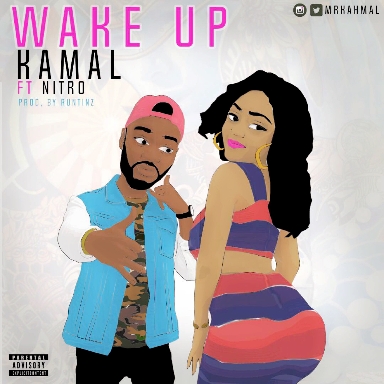 Wake Up - Kamal @MRKAHMAL Ft Nitro (Audio)