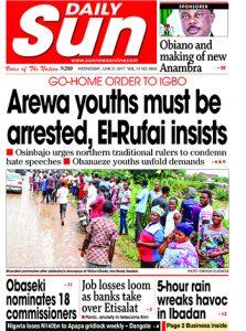 Naija.fm Newspaper Review - 21 June 2017