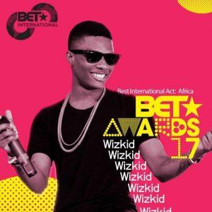 #BETAwards2017: Wizkid beats Davido, wins top category