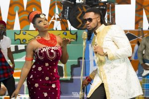 Flavour talks 'Chemistry' with Chidinma