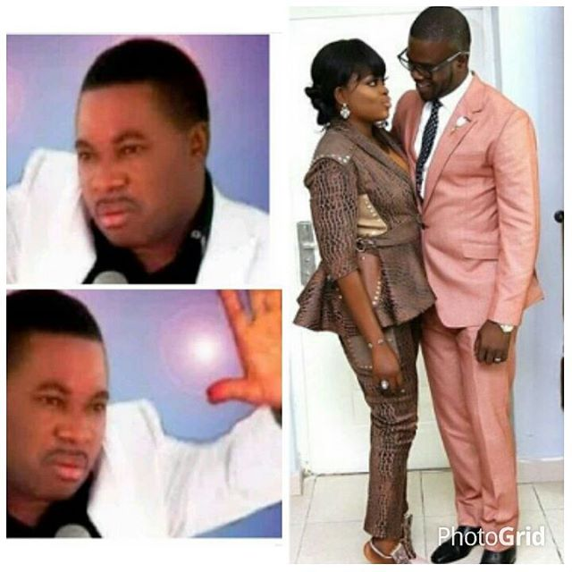 JJC Skillz reacts to his wife, Funke Akindele being pregnant with twins