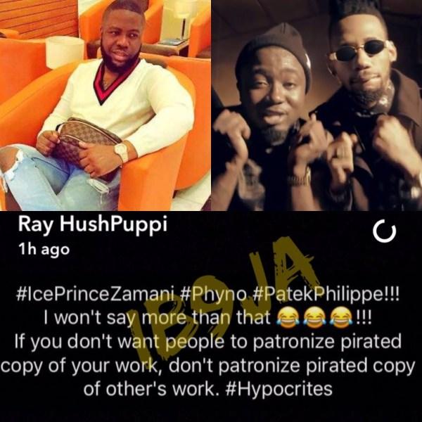 Photo of IBU Onye ala, sales man! Phyno 'buries' Hushpuppi with epic response [SEE SCREENSHOTS]