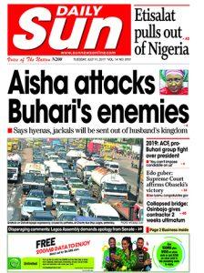Naija.fm Newspaper Review - 11 July 2017