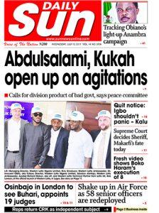 Naija.fm Newspaper Review - 12 July 2017