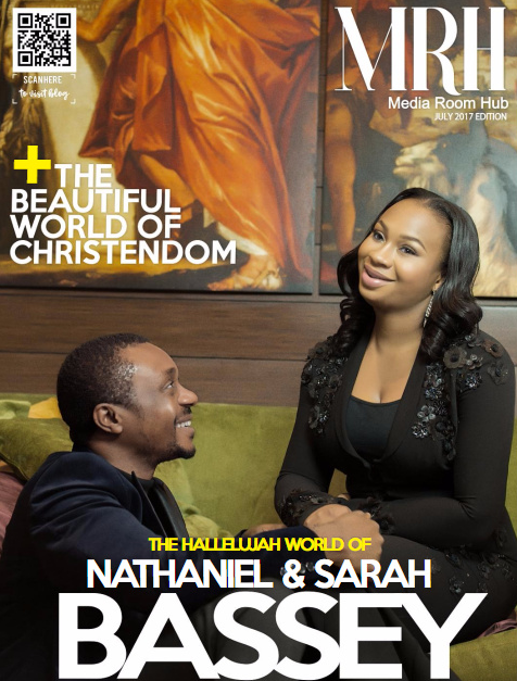 Nathaniel Bassey And Beautiful Wife Sarah Grace The Cover Of MRH Magazine For July