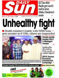 Naija.fm Newspaper Review - 18 July 2017