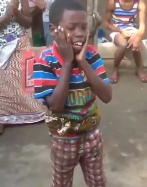 A Star Boy In The Making. Watch, Laugh And Share