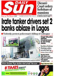 Naija.fm Newspaper Review - 20 July 2017