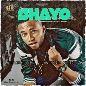 Shayo – Wale Wonder @walewonder (Audio)