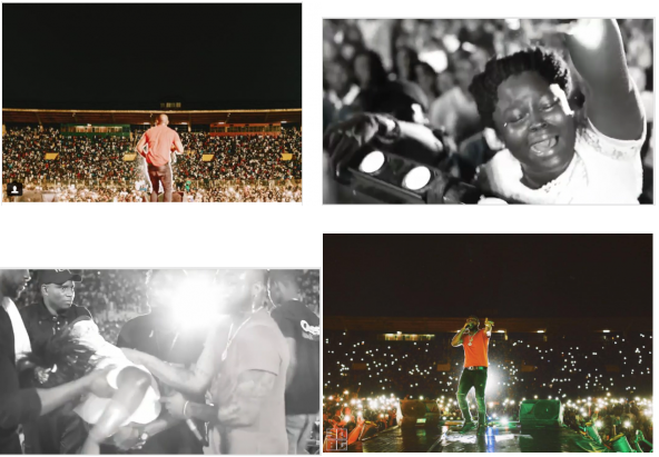 Fans burst into tears with love for Davido