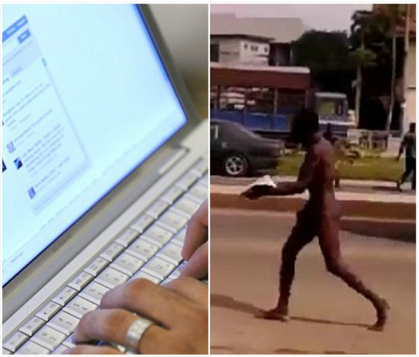 19-year-old boy runs mad after visiting Babalawo for 'Yahoo plus'