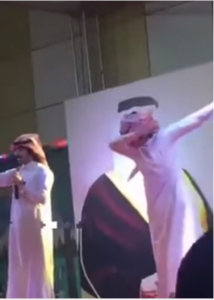 Saudi Arabian singer arrested for dabbing at live concert