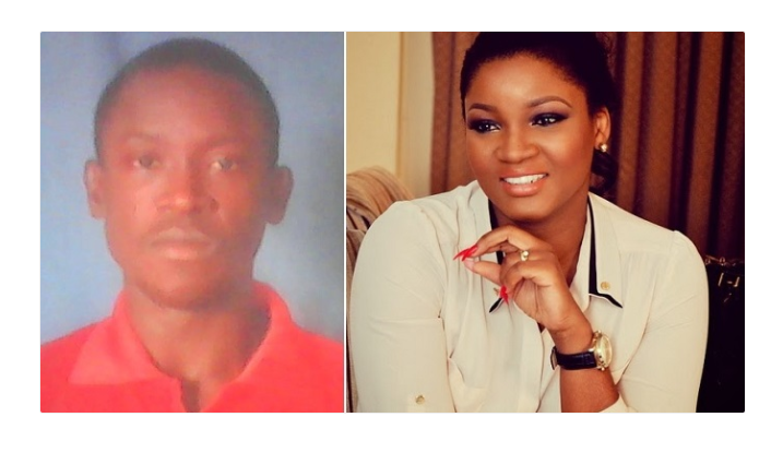 Nigerian guy curses Omotola for blocking him