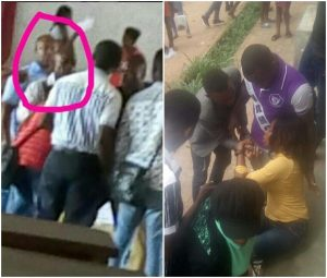 IMSU student faints after she was allegedly flogged by lecturer