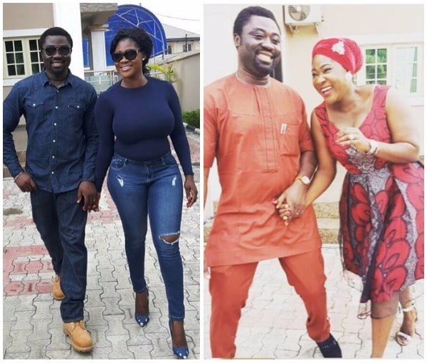 Mercy Johnson replies fan
