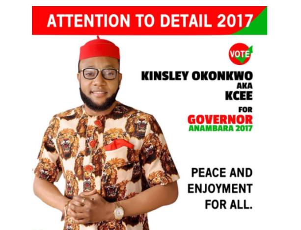 Photo of I don't smoke, I pray a lot – Kcee says he has no experience in politics but will become Anambra governor