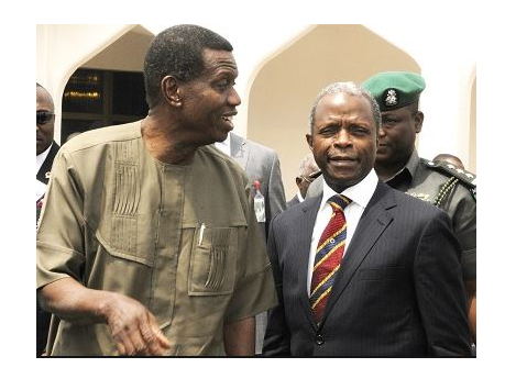 Like Obasanjo, I consulted Pastor Adeboye before becoming VP - Osinbajo