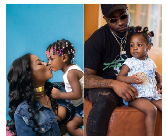 Photo of Davido's baby mama, Sophia complains about their daughter's attitude