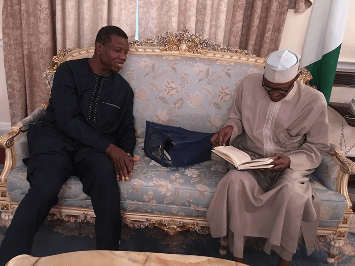 Buhari expected in Nigeria today after Pastor Adeboye's visit - Femi Adesina