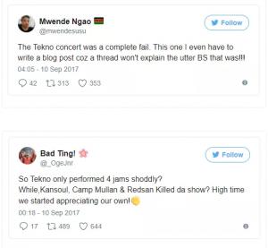 Kenyans blast Tekno over horrible performance in Nairobi