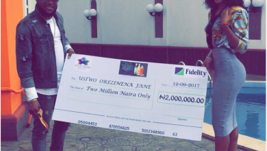 Photo of Dance Challenge: Kcee rewards female fan N2m [PHOTOS/VIDEO]