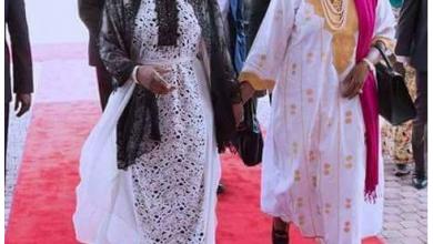 Photo of Nigerians react to N1.6m dress Aisha Buhari rocked [PHOTOS]