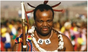 Swazi king chooses