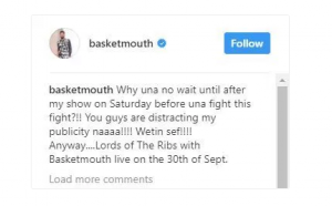 Psquare Fight Video: Basketmouth