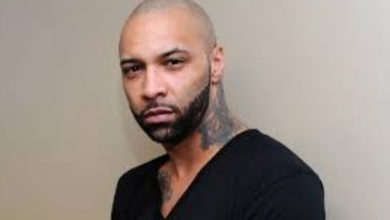 Rapper Joe Budden