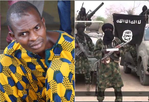 Arrested Boko Haram suspect